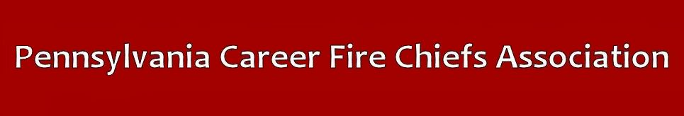 PA Career Fire Chiefs